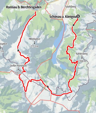 Map / Tourenplanung am 16. Januar 2018