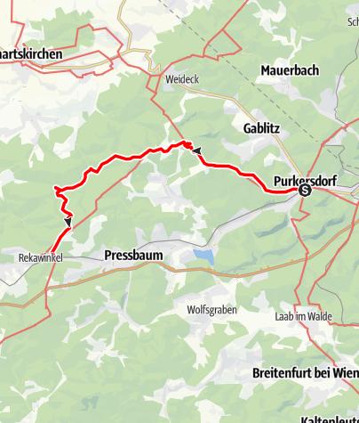 Mappa / Von Moderne zum Altertum im Wienerwald