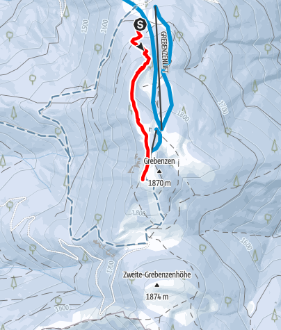 Karte / Grebenzenhöhe