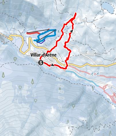 Karte / Lac du Pontet