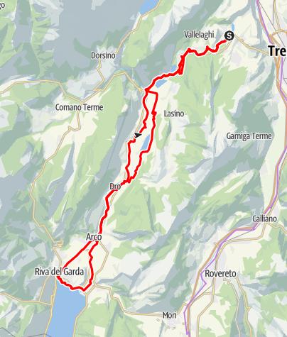 Karte / Valle dei Laghi
