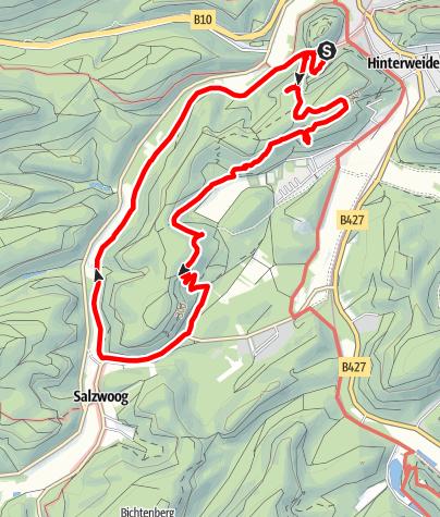 Map / Teufelstisch Tour,Hinterweidenthal,08.05.18