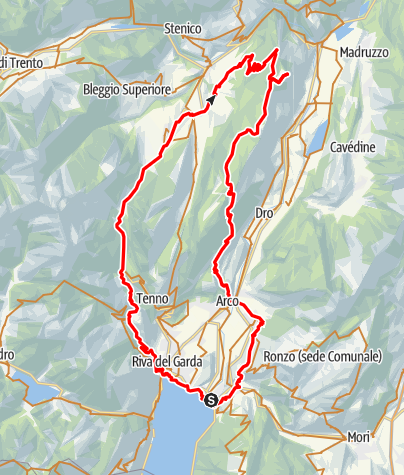 Karte / Casale (über Tenno)