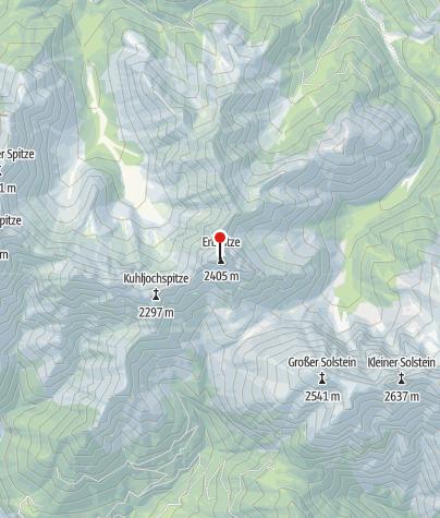 Karte / Erlspitze 2405m