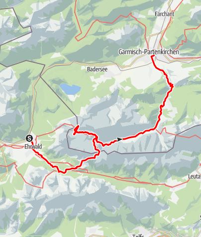 Map / Durchs Gatterl auf die Zugspitze
