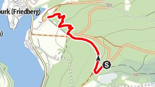 Karte / Singltrail Frymbruk