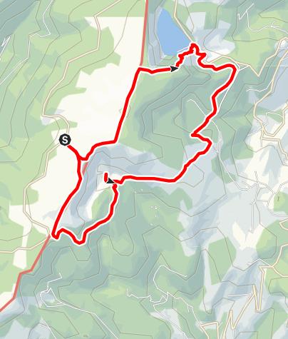 Karte / 4-Seentour Hochvogesen