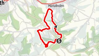 Karte / Blindenaafer Mühle Rundweg