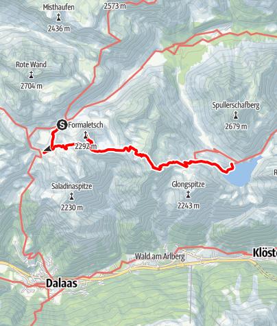 Karte / Vorarlberg: Von See zu See