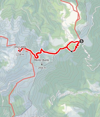 Map / Rifugio Fraccaroli