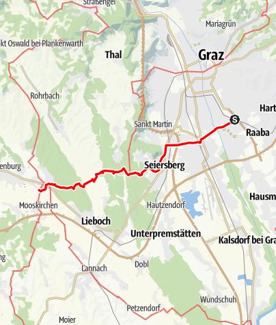 Karte / Graz - Rom 01 Graz-Soeding