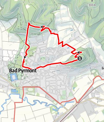 Karte / Bismarckturm Rundweg