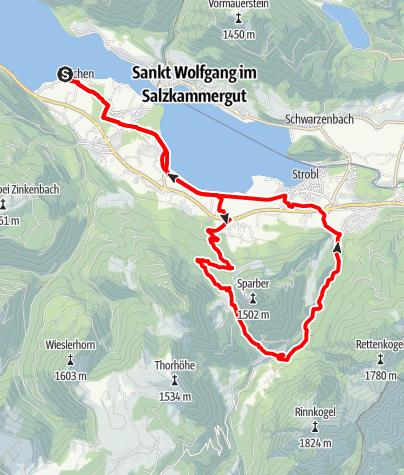 Karte / Sparberrunde