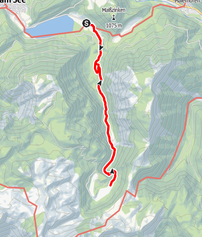 Map / Lunz am See - Obersee