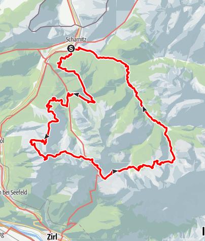 Karte / 2. KDT Hike