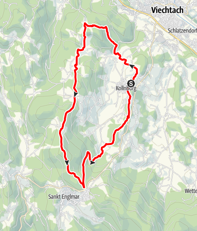 Map / RUN with the Crew - lange Strecke