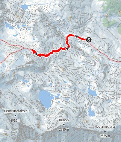 Karte / ÖAV -Weg 556 - ab Villacher Hütte Instandsetzung