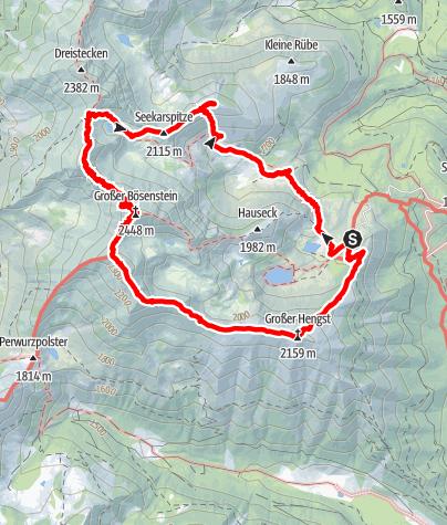 Karte / Bösenstein