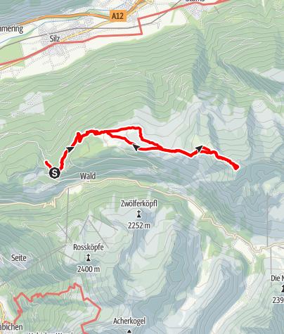 Karte / PIRCHKOGEL