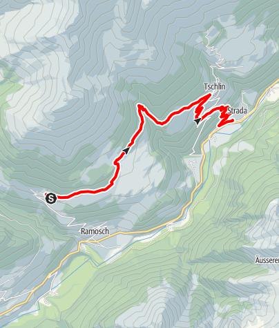 Karte / Bergbierfestival Wanderweg