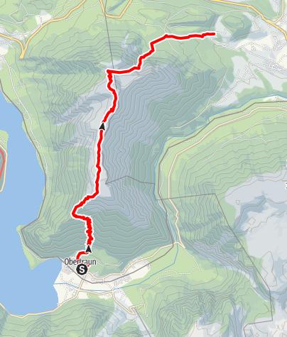 Karte / 21. September 2018 Überquerung Sarstein-Obertraun--Bad Aussee