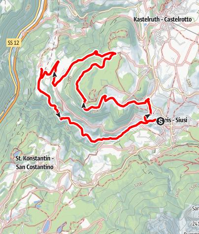 Karte / Escursione Törggele a San Osvaldo