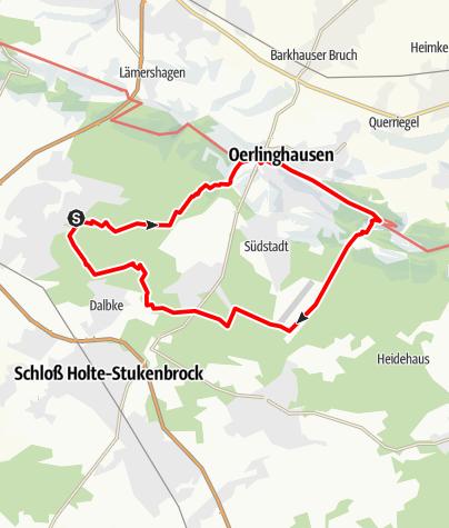 Karte / B+H-2018-10-11: Sennestadt -Segelflugplatz