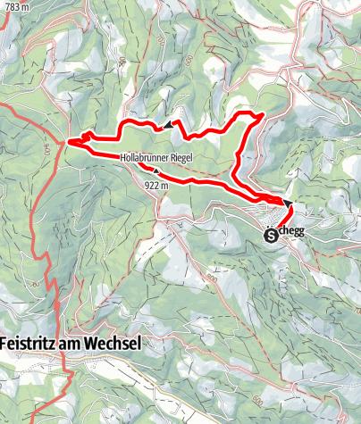 Karte / Hochegger Rundwanderung