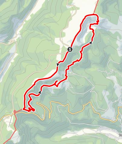Karte / HAUTES VOSGES Les 2 lacs par les Hirschsteine