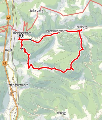 Karte / Ofenberg-Gsolberg Rundwanderung