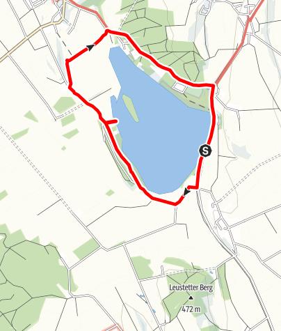 Karte / Abtsdorfer See
