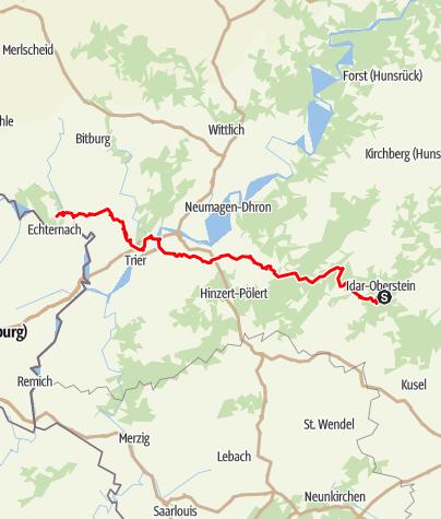 Karte / Wanderung am 7. Dezember 2018
