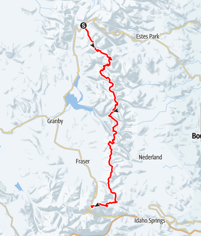 Map / Pfiffner Traverse