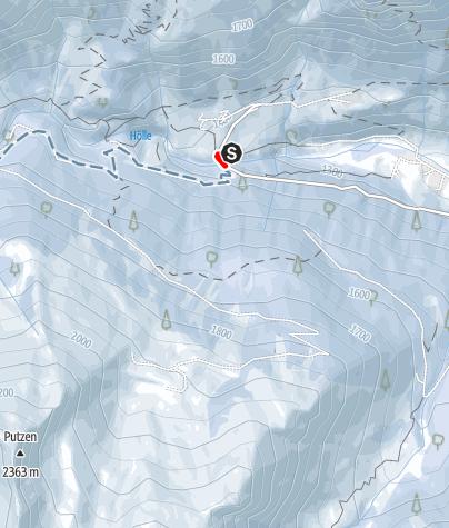 Karte / Skitour Maurerspitz