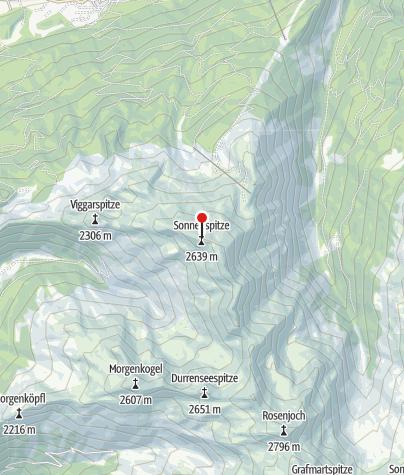Karte / Sonnenspitze