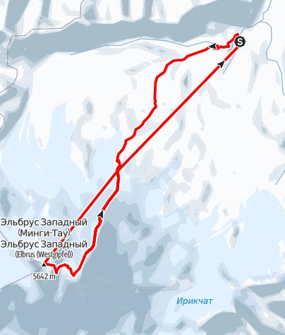 Karte / Elbrus