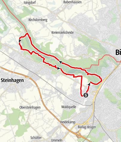Map / B+H-2019-01-10; BI-Quelle - Schwedenschanze