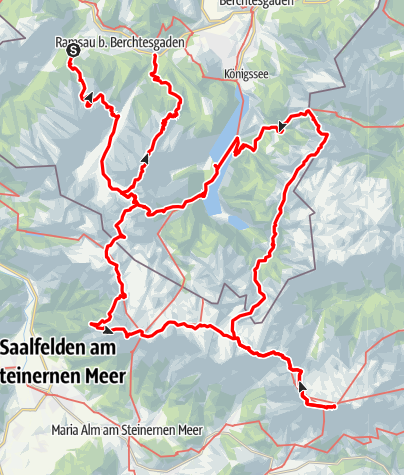 Karte / Watzmanngas