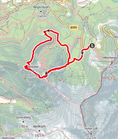 Map / 2012 Kehlstein