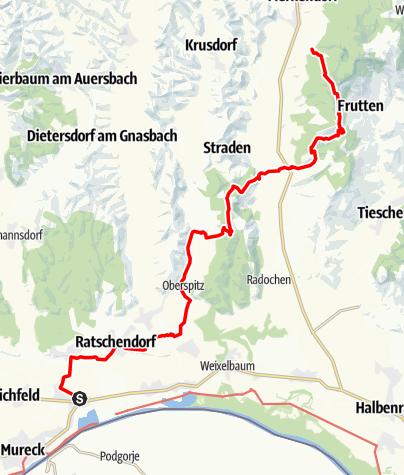 Karte / Transalp E48 Gosdorf - Wilhelmsdorf