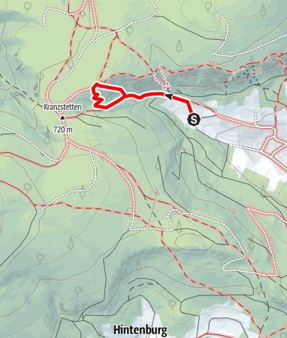 Karte / Flatzer Wand - E60