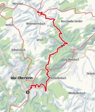Karte / SHS IO - Herrstein  28.03.19