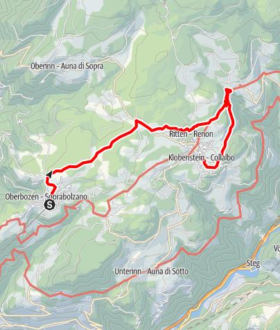 Map / ICSZ2020 - Hiking #1: Ritten (easy)