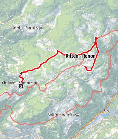 Map / ICSZ2020 - Hiking #1: Ritten (easy)