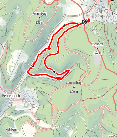 Karte / Wanderung am 27. April 2019 um 09:57