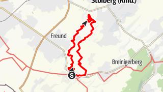 Karte / Tour aus GPX-Track am 30. April 2019