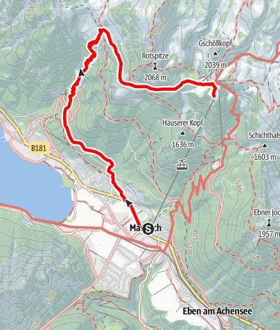 Map / Erfurter Hütte