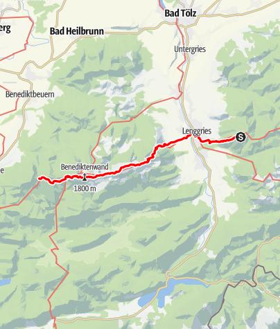 Karte / Geierstein - Pessenbacher Schneid (2)