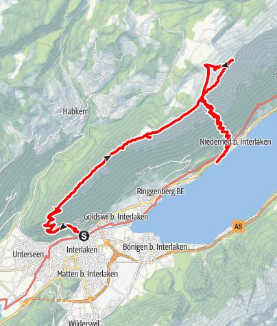 Karte / Harder Kulm, v3 (Planung)