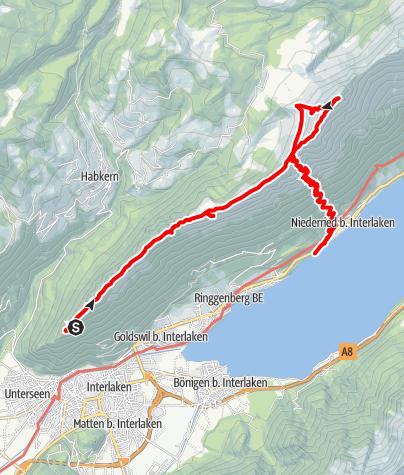 Karte / Harder Kulm, V2 (Planung)